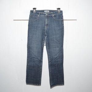 Chico's quartz womens jeans size 1 R 1882